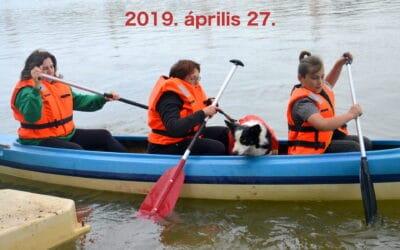 Tavaszi evezés a Dunán – előtte és utána
